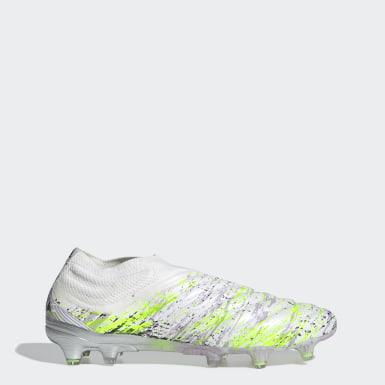 Zapatos de Fútbol Copa 20+ Terreno Firme Blanco Hombre Fútbol