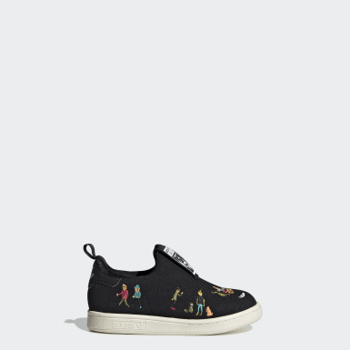 Zapatillas Stan Smith 360 Negro Niño Originals