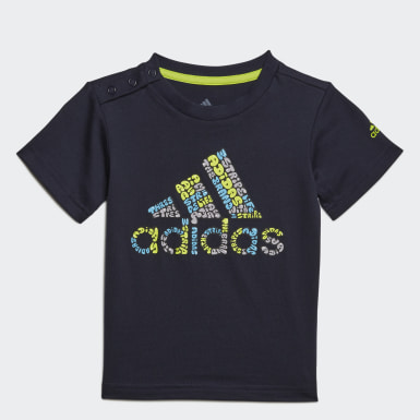Camiseta Logo Azul Kids Training