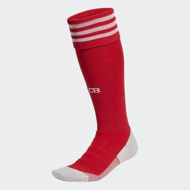 ฟุตบอล สีแดง ถุงเท้า FC Bayern Home