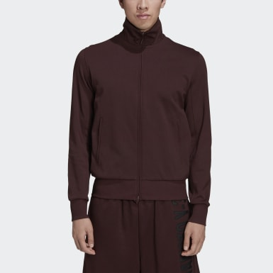 Y-3 CL Track Jacket Bordowy