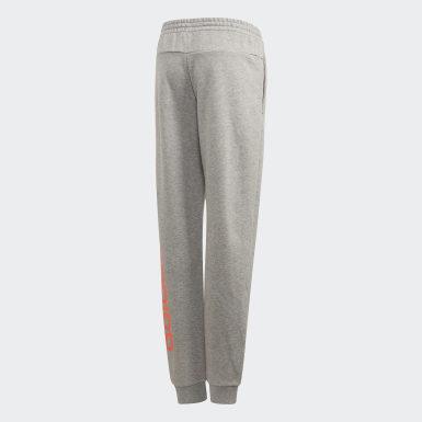 Girls Athletics Grå Linear bukser