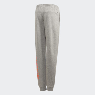 Girls Athletics Grå Linear Pants