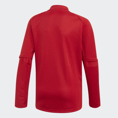 Kids Football Red Condivo 20 Training Top