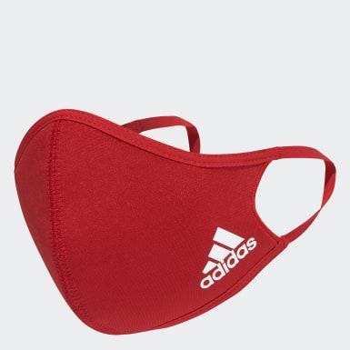 Mascarilla talla M/L (Pack de 3) Rojo Training