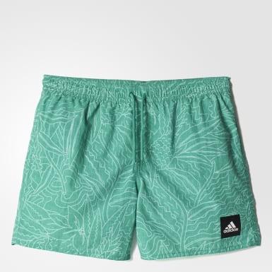зеленый Плавательные шорты Allover Graphic