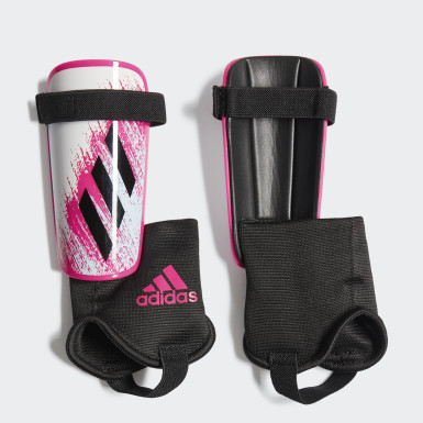 Barn Fotboll Vit X 20 Match Shin Guards