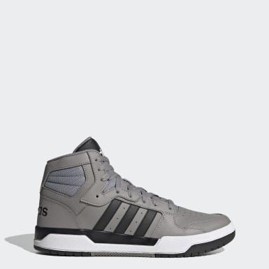 Men's Essentials Grey Entrap Mid Shoes