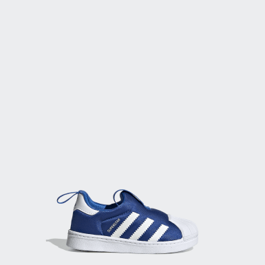 Kinder Originals Superstar 360 Schuh Blau