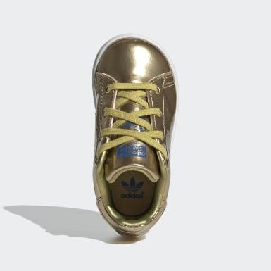 Kids Originals Gold Stan Smith Shoes