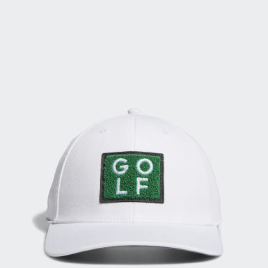 Men's Golf White Golf Turf Hat