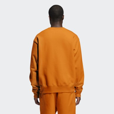 Originals Orange Pharrell Williams Basics Crew Sweatshirt (Gender Neutral)