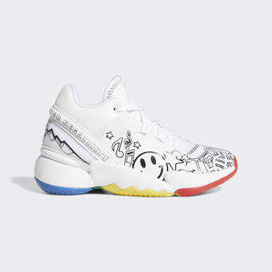 Children Basketball White D.O.N. Issue #2 Shoes