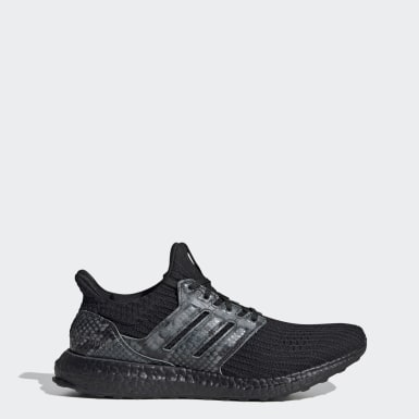 Running Grey Ultraboost DNA Black Python Shoes