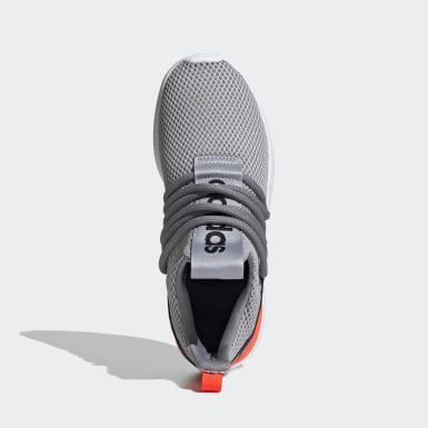 Chaussure Lite Racer Adapt3 gris Enfants Essentials