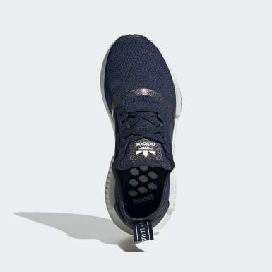Kinder Originals NMD_R1 Schuh Blau