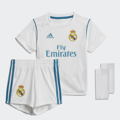 Kit Real Madrid Home Mini Blanco Niño Fútbol