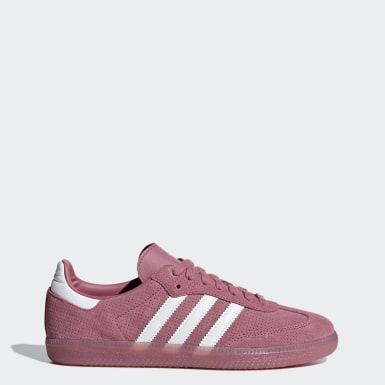Women Originals Pink Samba OG Shoes