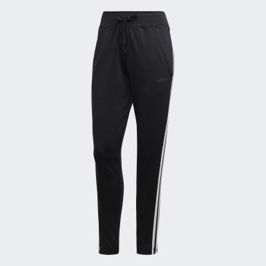 Ženy Pozemní Hokej černá Kalhoty Design 2 Move 3-Stripes