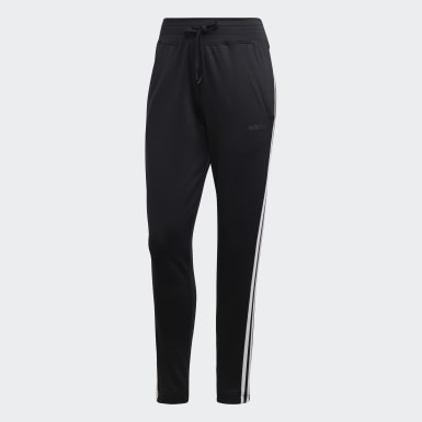 Pants Design 2 Move 3 Franjas Negro Mujer Training