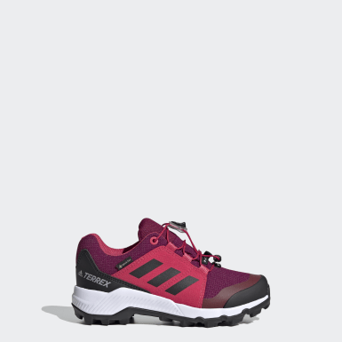 Kids TERREX Burgundy Terrex GORE-TEX Hiking Shoes
