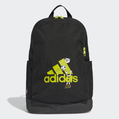 Youth 8-16 Years Running Black Cleofus Graphic Classic Backpack