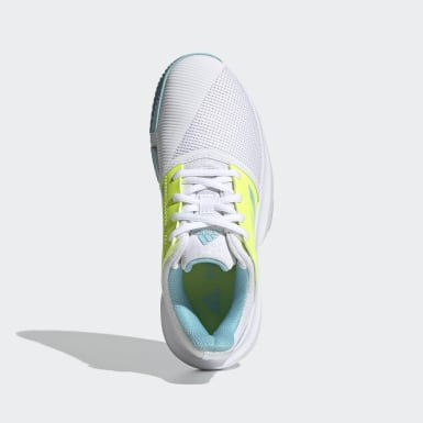 Chaussure CourtJam Tennis blanc Adolescents Tennis