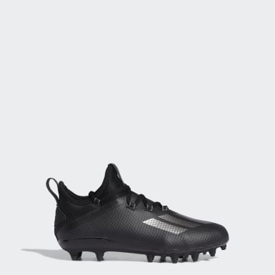 Youth Football Black Adizero Cleats