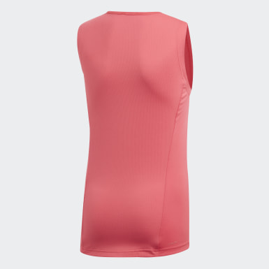 Camisola de Alças Cardio Rosa Raparigas Treino