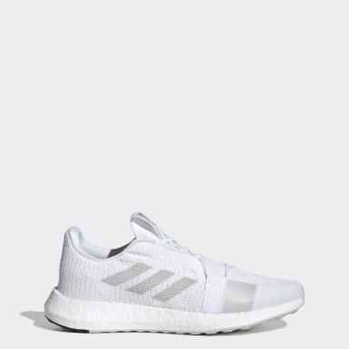 ผู้ชาย วิ่ง สีขาว รองเท้า Senseboost Go