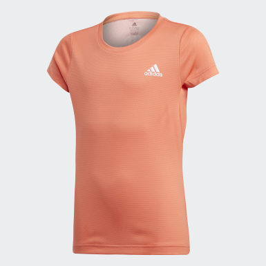 Youth 8-16 Years Yoga Orange AEROREADY T-Shirt