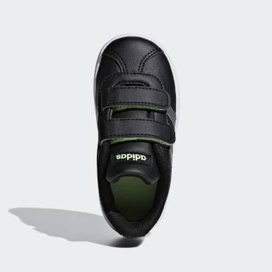 Infant Sport Inspired Black VL Court 2.0 Shoes