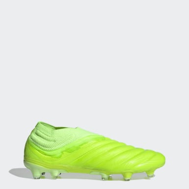 Soccer Green Copa 20+ Firm Ground Cleats