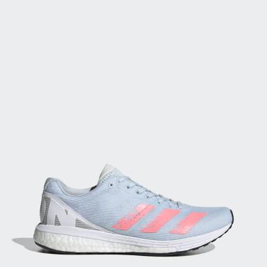 Frauen Running Adizero Boston 8 Schuh Blau