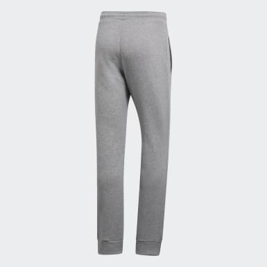 Calças Trefoil Essentials Cinzento Homem Originals