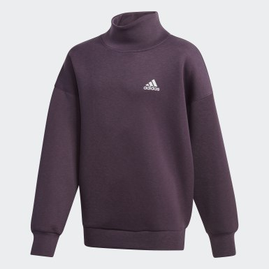Sudadera Warm AEROREADY Warming Violeta Niña Training