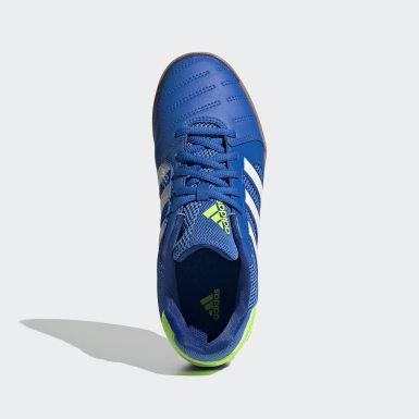 Kinder Fußball Top Sala Schuh Blau