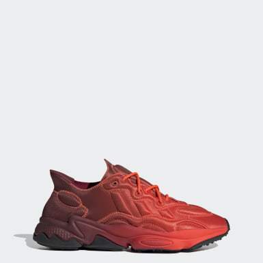 Men Originals Red OZWEEGO Tech Shoes