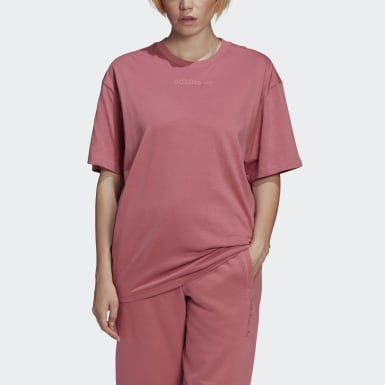 Women Originals Pink Oversize T-Shirt