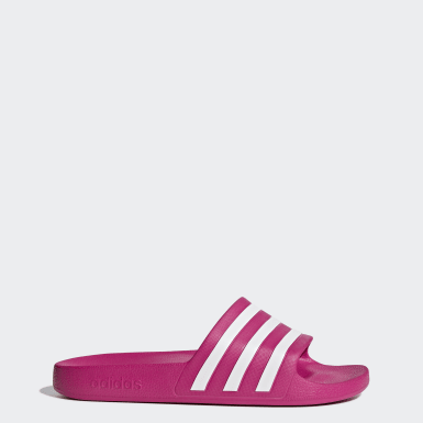 Swimming Pink Adilette Aqua Slides