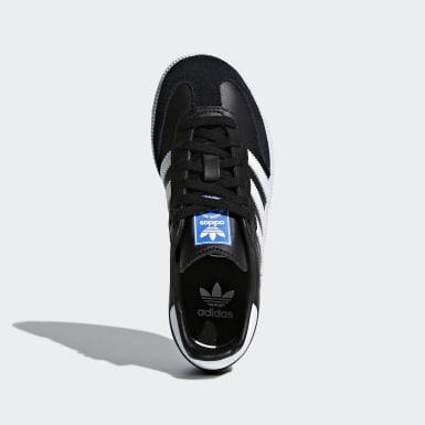 Çocuklar Originals Siyah Samba OG Ayakkabı