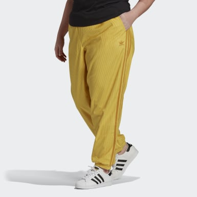 Women Originals Yellow Cuffed Joggers