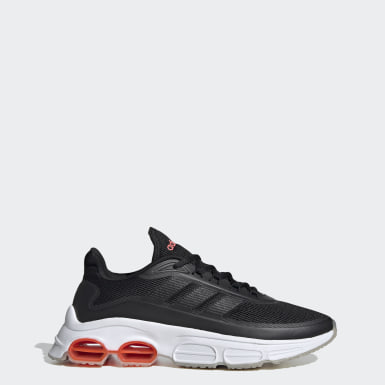 Men Sport Inspired Black Quadcube Shoes