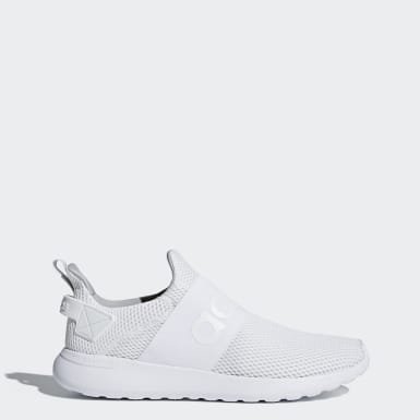 Essentials White Lite Racer Adapt Shoes