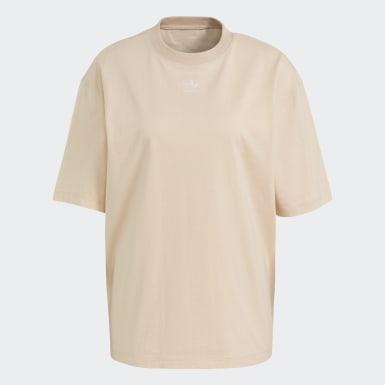 Camiseta Adicolor Essentials Rosa Mujer Originals
