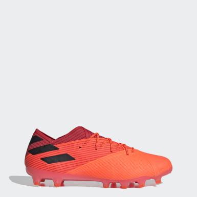 Fodbold Orange Nemeziz 19.1 Artificial Grass støvler