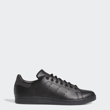 Men Originals Black Pharrell Williams Stan Smith Shoes