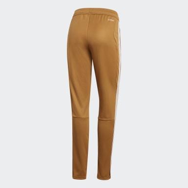 Pantalon d'entraînement Tiro 19 marron Femmes Soccer