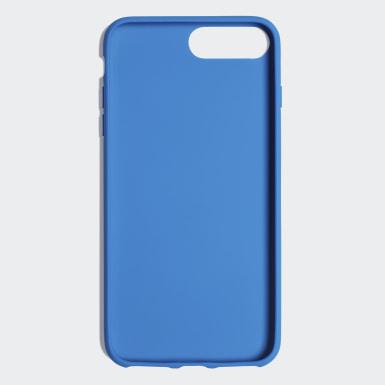 Coque Basic Logo iPhone 8+ Bleu Originals
