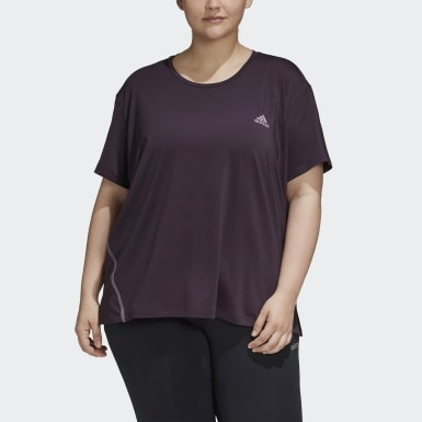 Glam-On Tee (Plus Size) Fioletowy